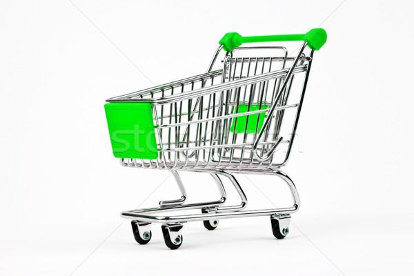 Shopping Trolley Stock photo © chrisdorney