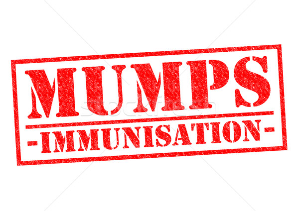 MUMPS IMMUNISATION Stock photo © chrisdorney