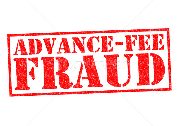 ADVANCE-FEE FRAUD Stock photo © chrisdorney