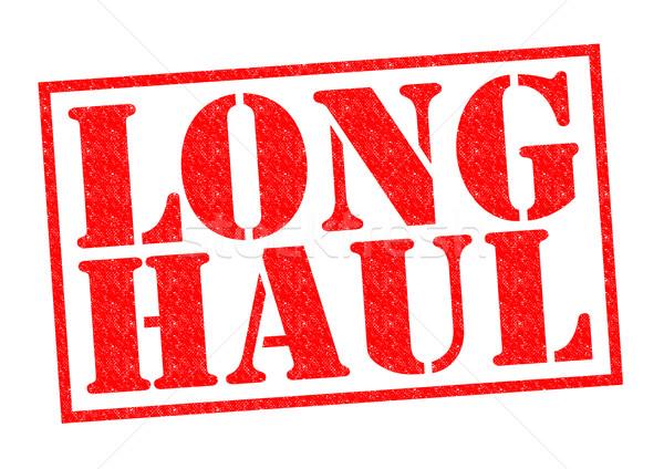 LONG HAUL Stock photo © chrisdorney