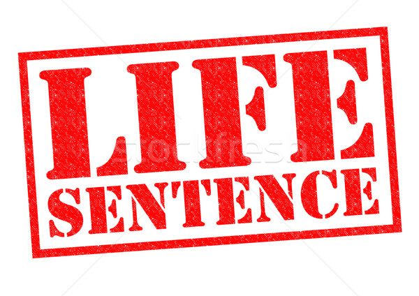 LIFE SENTENCE Stock photo © chrisdorney