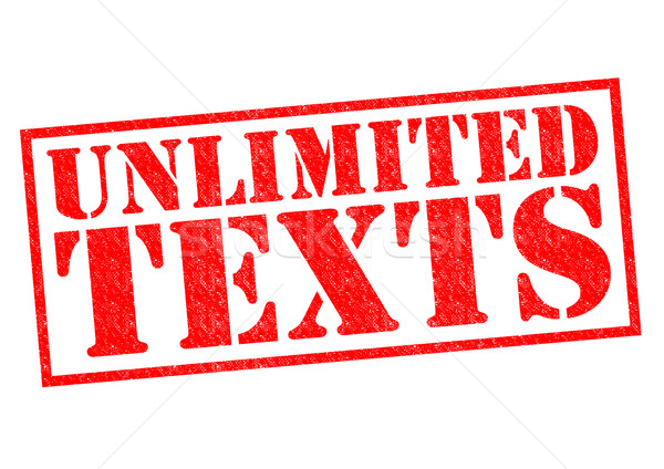 UNLIMITED TEXTS Stock photo © chrisdorney