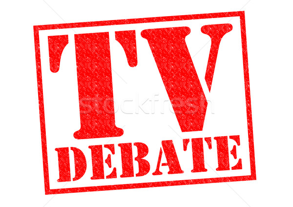 TV DEBATE Stock photo © chrisdorney