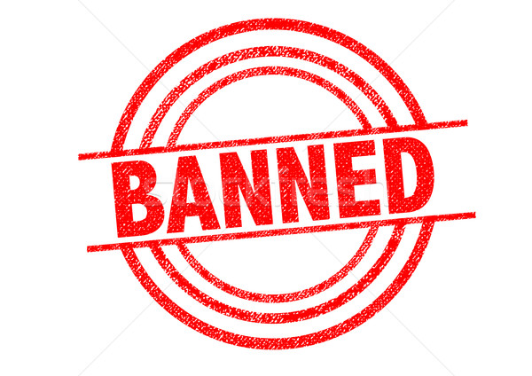 BANNED Rubber Stamp Stock photo © chrisdorney
