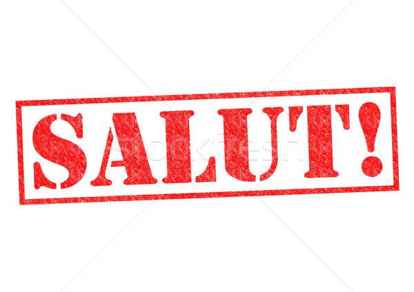 SALUT! Stock photo © chrisdorney