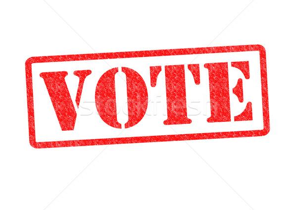 VOTE Stock photo © chrisdorney