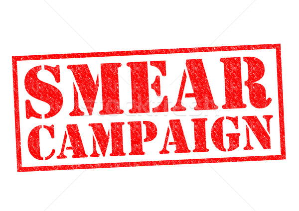SMEAR CAMPAIGN Stock photo © chrisdorney