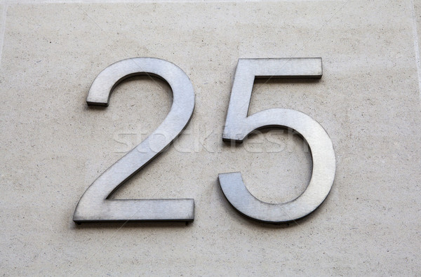 Number 25 Stock photo © chrisdorney