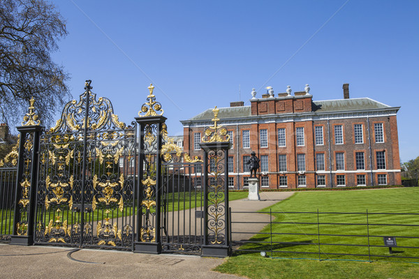 Kensington Palace in London Stock photo © chrisdorney