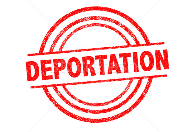 DEPORTATION Rubber Stamp Stock photo © chrisdorney