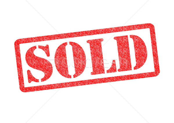 SOLD Rubber Stamp Stock photo © chrisdorney