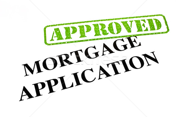 Mortgage Application APPROVED Stock photo © chrisdorney