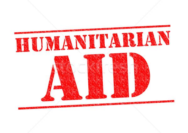 HUMANITARIAN AID Stock photo © chrisdorney