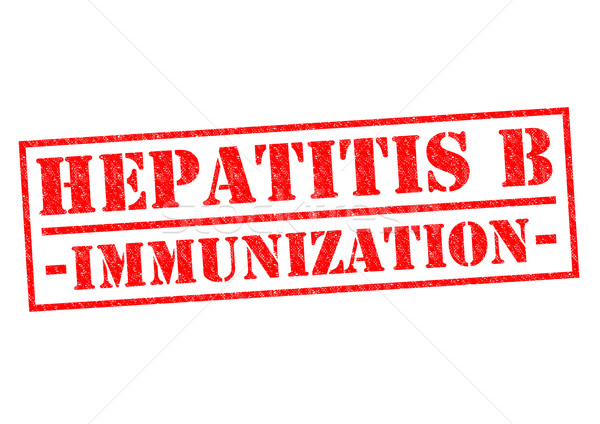 HEPATITIS B IMMUNIZATION Stock photo © chrisdorney