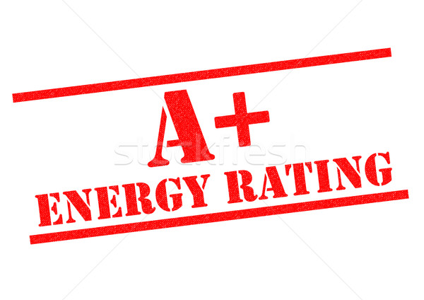 A+ ENERGY RATING Stock photo © chrisdorney