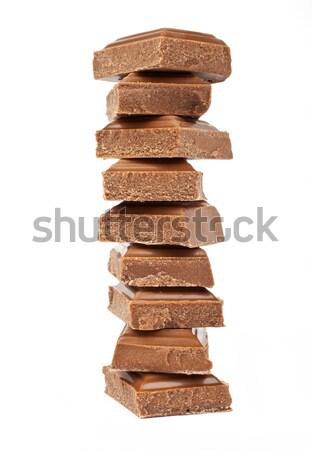 Chocolate Chunks Stock photo © chrisdorney