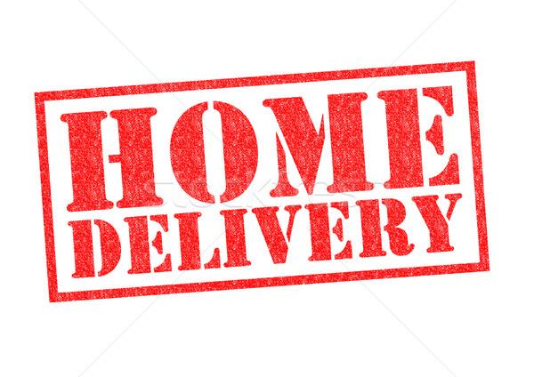 HOME DELIVERY Stock photo © chrisdorney