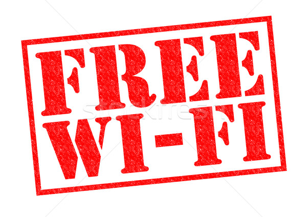 FREE WI-FI Stock photo © chrisdorney