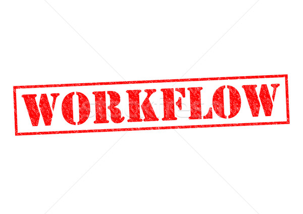 WORKFLOW Stock photo © chrisdorney