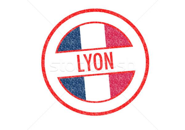 LYON Rubber Stamp Stock photo © chrisdorney