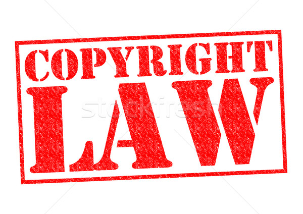 Droit d'auteur droit rouge blanche design Photo stock © chrisdorney