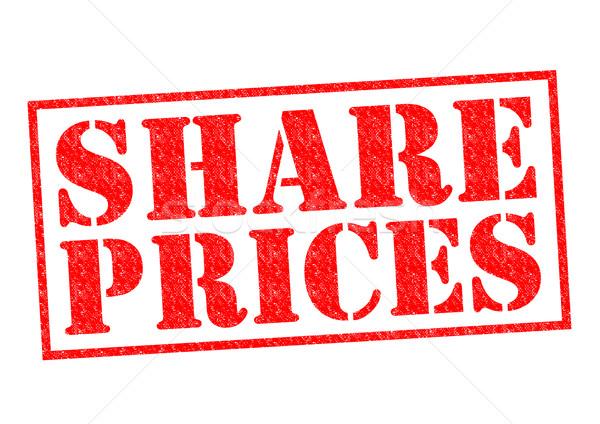 Stockfoto: Prijzen · Rood · witte · geld · financiële