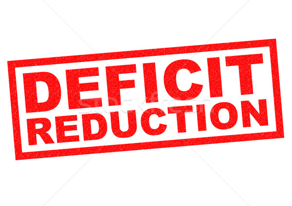 DEFICIT REDUCTION Stock photo © chrisdorney