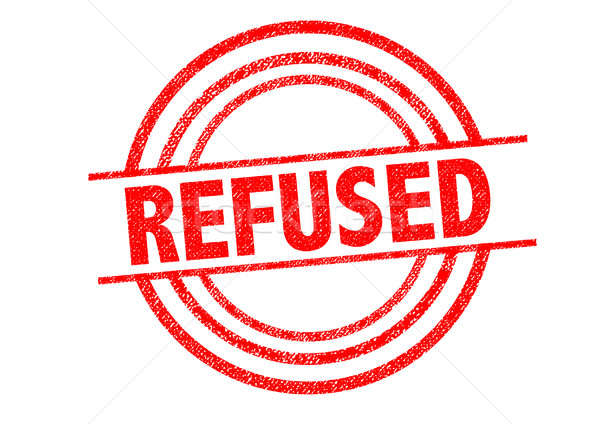 REFUSED Rubber Stamp Stock photo © chrisdorney