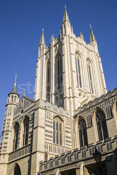 St Edmundsbury Cathedral in Bury St Edmunds Stock photo © chrisdorney