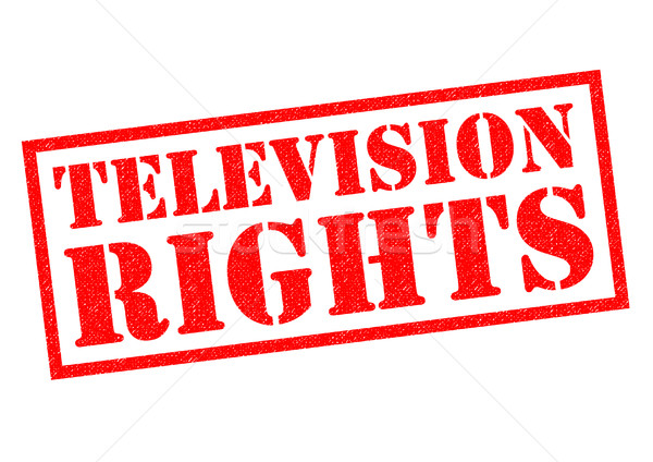 TELEVISION RIGHTS Stock photo © chrisdorney