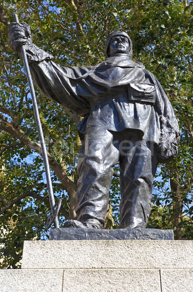 Captain Robert Falcon Scott Statue in London Stock photo © chrisdorney