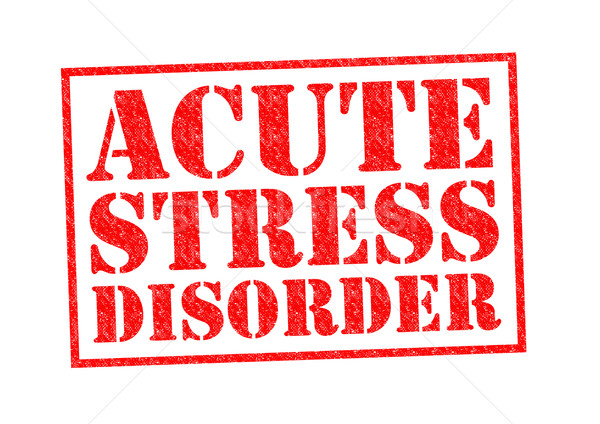 ACUTE STRESS DISORDER Stock photo © chrisdorney