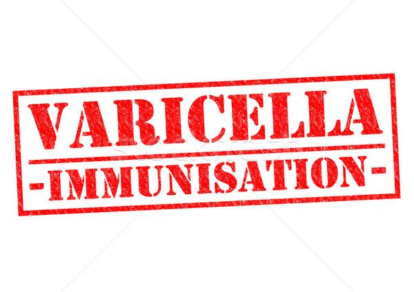 VARICELLA IMMUNISATION Stock photo © chrisdorney