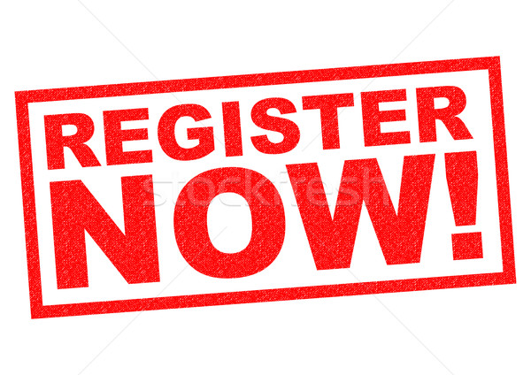 Stock photo: REGISTER NOW!