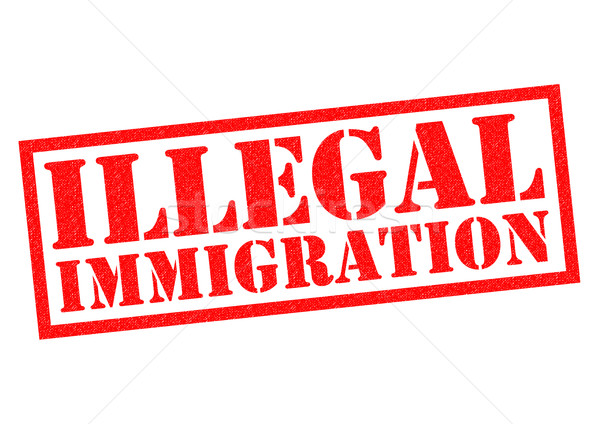 ILLEGAL IMMIGRATION Stock photo © chrisdorney