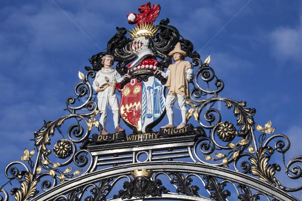 Colchester Castle Park Gates Stock photo © chrisdorney