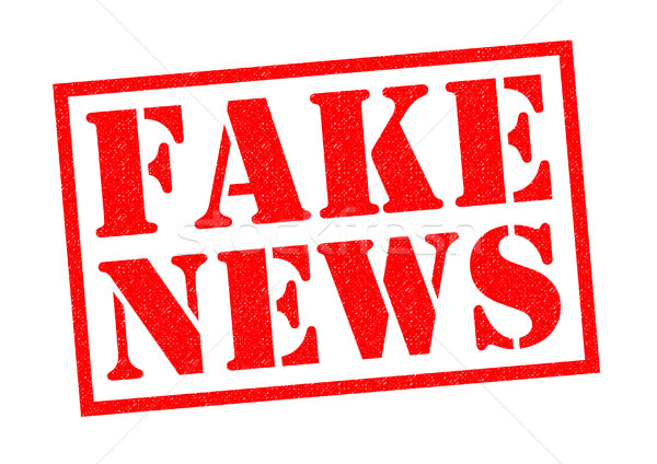 FAKE NEWS Stock photo © chrisdorney