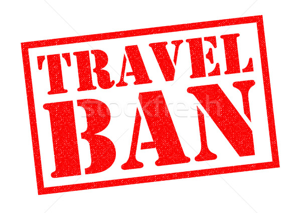 TRAVEL BAN Stock photo © chrisdorney