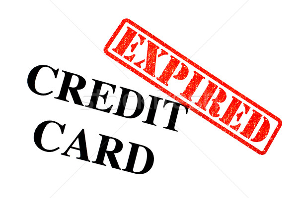 Credit Card EXPIRED Stock photo © chrisdorney