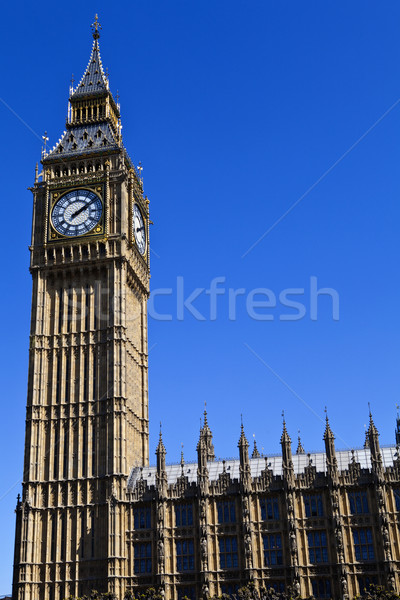Houses of Parliament in London Stock photo © chrisdorney