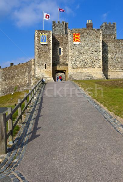 Dover Castle Stock photo © chrisdorney