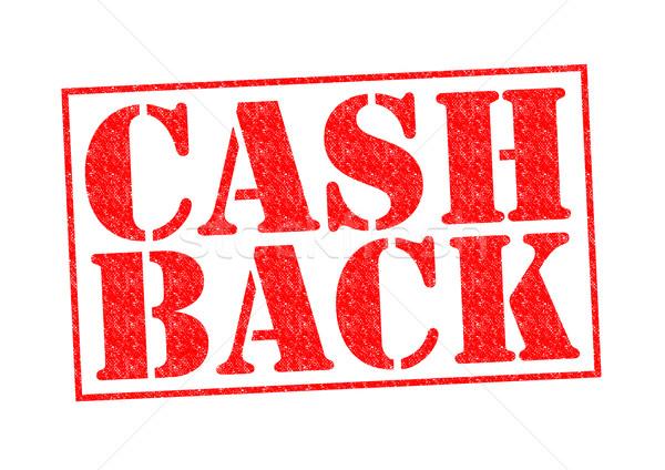CASH BACK Stock photo © chrisdorney