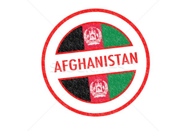 Afganistan beyaz Asya tatil düğme Stok fotoğraf © chrisdorney