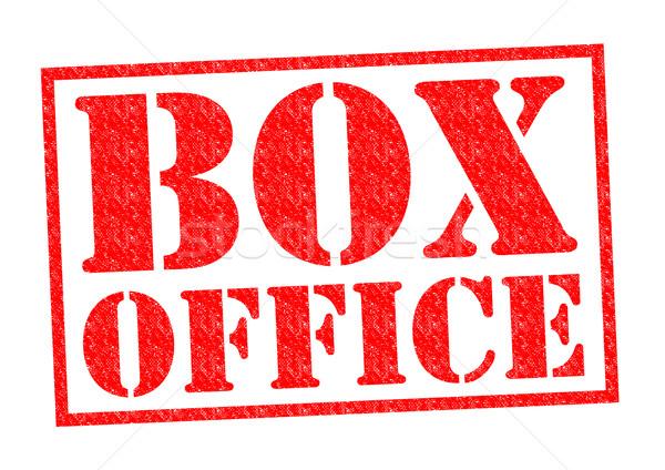 Cuadro oficina rojo blanco dinero Foto stock © chrisdorney