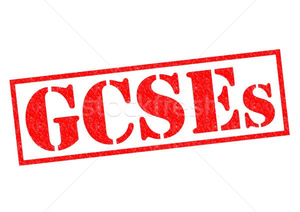 GCSEs Stock photo © chrisdorney