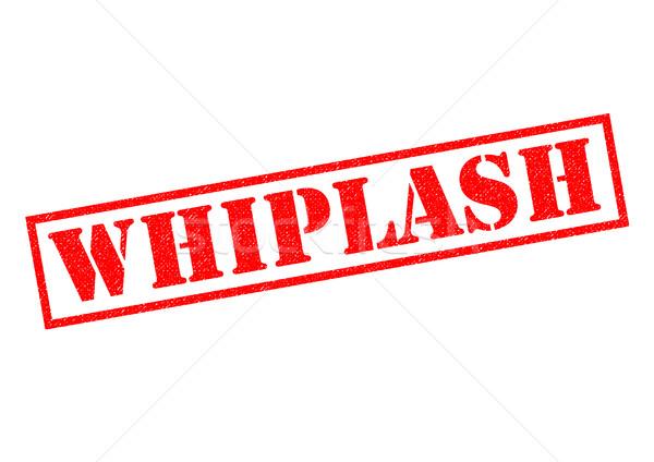 WHIPLASH Stock photo © chrisdorney