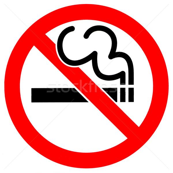 Stock photo: No Smoking