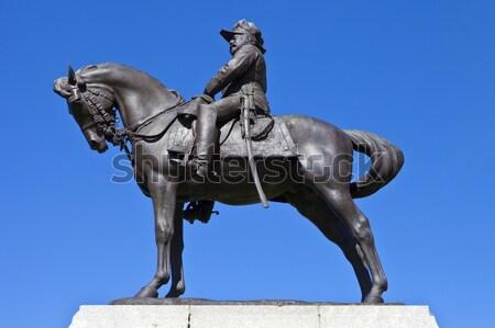 Wellington estátua banco inglaterra fora Londres Foto stock © chrisdorney