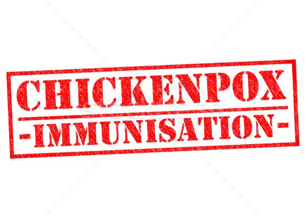 CHICKENPOX IMMUNISATION Stock photo © chrisdorney