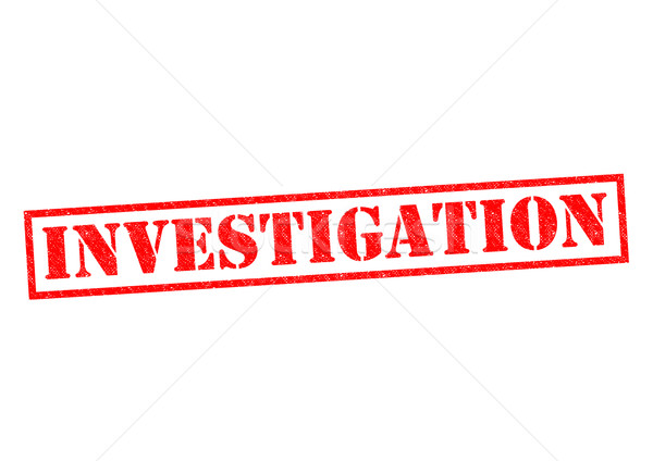 INVESTIGATION Stock photo © chrisdorney
